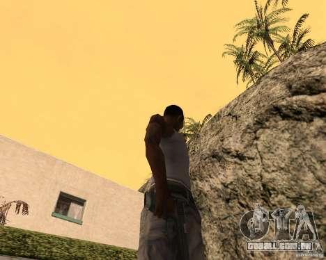 Guns Pack para GTA San Andreas sexta tela