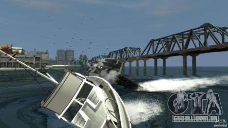 Biff boat para GTA 4 traseira esquerda vista
