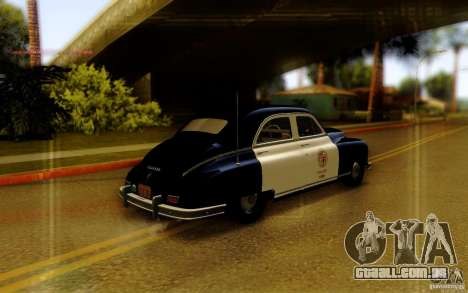 Packard Touring Police para GTA San Andreas esquerda vista