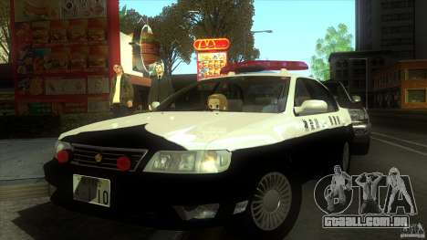 Nissan Cefiro A32 Kouki Japanese PoliceCar para GTA San Andreas