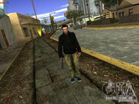 Claude HD Remake (Beta) para GTA San Andreas terceira tela
