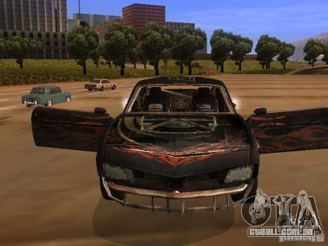 Car from FlatOut 2 para GTA San Andreas esquerda vista