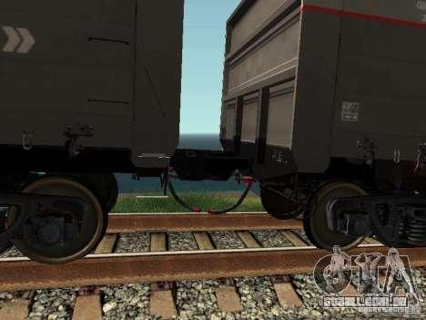 Abra RZHD JSC para GTA San Andreas vista interior