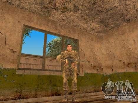 Degtyarev de Stalker para GTA San Andreas quinto tela