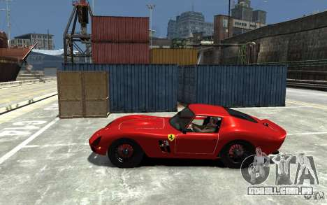 Ferrari 250 Le Mans para GTA 4 esquerda vista