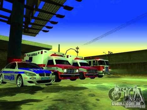 Ambulance 1987 San Andreas para as rodas de GTA San Andreas