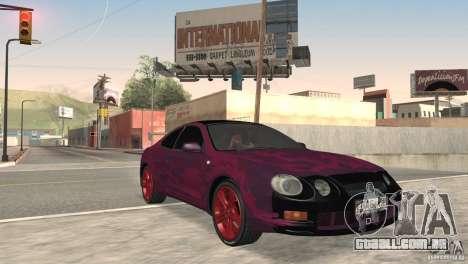 Toyota Celica para GTA San Andreas vista traseira