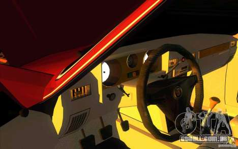 GAZ 3102 Volga Limousine para GTA San Andreas vista interior