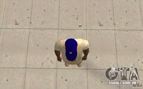 Newyorkyankiys tampa roxa para GTA San Andreas terceira tela