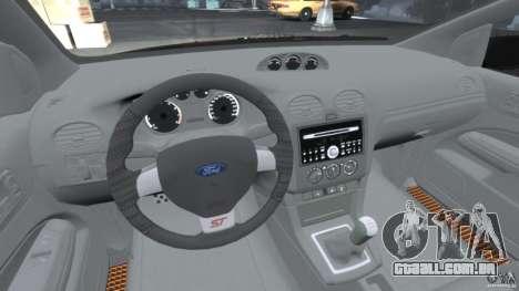 Ford Focus ST para GTA 4 vista direita