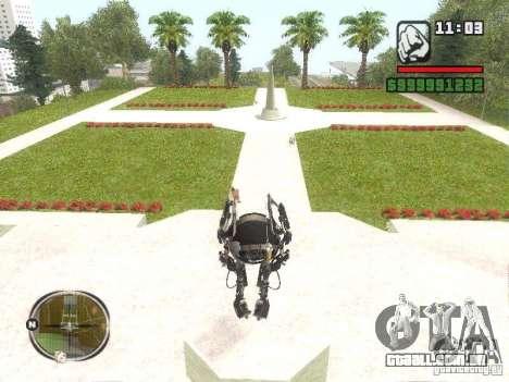 Robô de Portal 2 # 2 para GTA San Andreas segunda tela