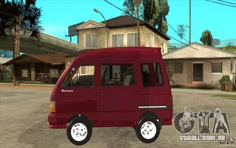 KIA Towner para GTA San Andreas esquerda vista