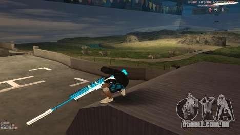Sniper Rifle para GTA San Andreas terceira tela