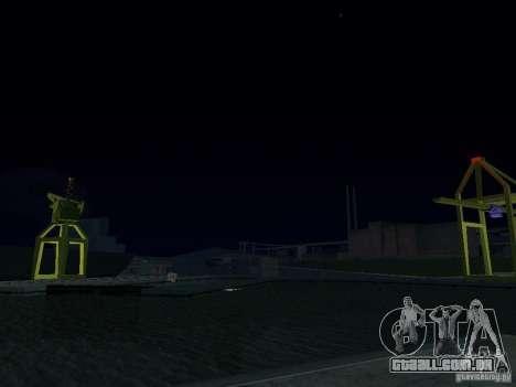 Timecyc novo para GTA San Andreas oitavo tela