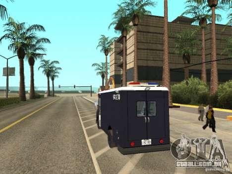 SWAT de Los Angeles para GTA San Andreas esquerda vista