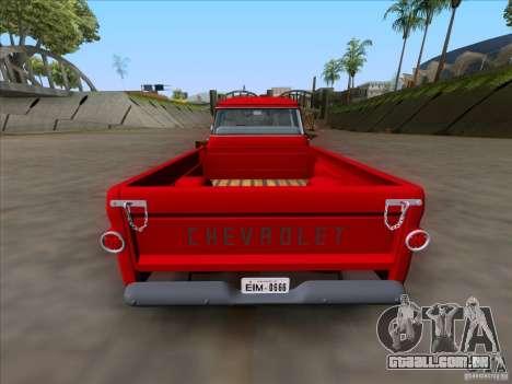 Chevrolet Apache GM 1959 para GTA San Andreas vista direita