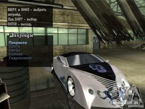 Thunderbold SlapJack para as rodas de GTA San Andreas