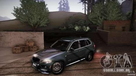 BMW X5 with Wagon BEAM Tuning para as rodas de GTA San Andreas