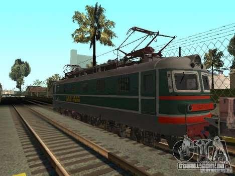 Chs2 para GTA San Andreas traseira esquerda vista