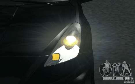 Toyota Celica para GTA San Andreas interior