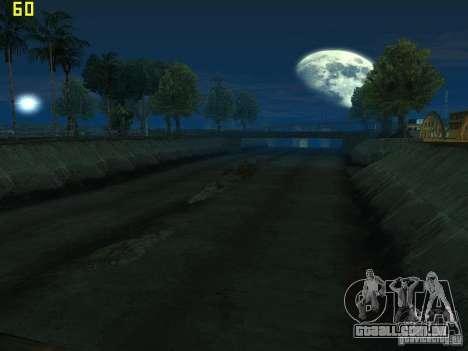 GTA SA IV Los Santos Re-Textured Ciy para GTA San Andreas por diante tela