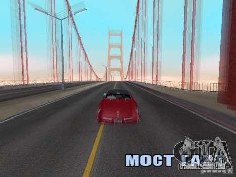 Camera Shake para GTA San Andreas terceira tela