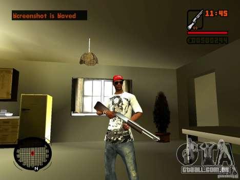 GTA IV Animation in San Andreas para GTA San Andreas quinto tela