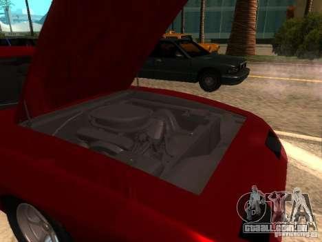 Dodge Charger Daytona Fast & Furious 6 para GTA San Andreas vista interior