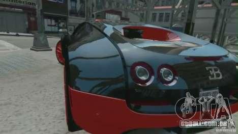 Bugatti Veyron 16.4 Super Sport para GTA 4 esquerda vista
