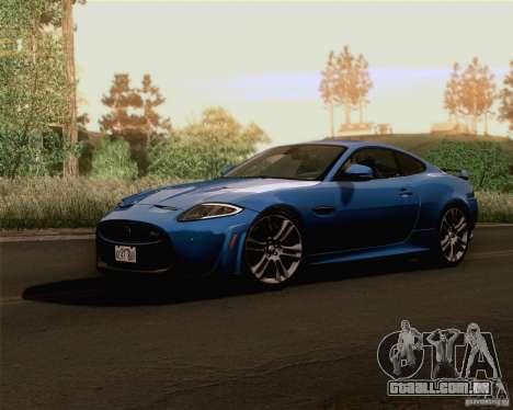 Optix ENBSeries Anamorphic Flare Edition para GTA San Andreas por diante tela