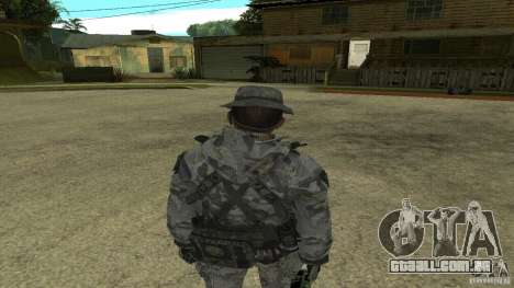 Captain Price para GTA San Andreas terceira tela