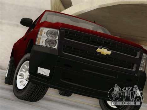 Chevrolet Silverado 2500HD 2013 para GTA San Andreas vista superior