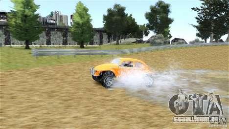Baja Volkswagen Beetle V8 para GTA 4 vista de volta
