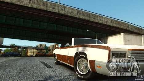 Buccaneer Final para GTA 4 vista direita
