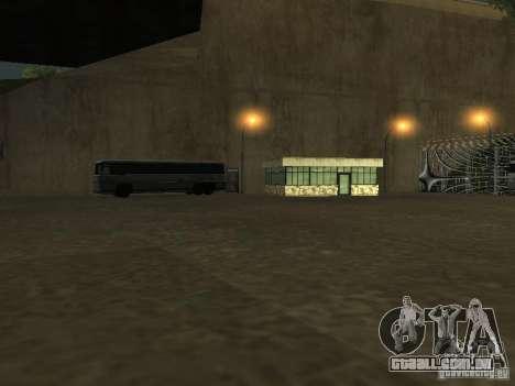 Ônibus Parque v 1.1 para GTA San Andreas sexta tela