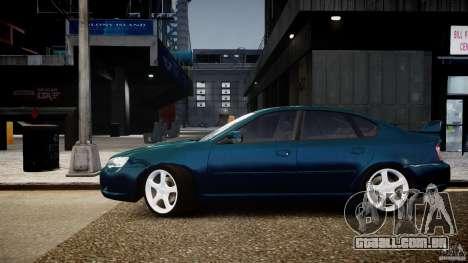 Subaru Legacy B4 GT para GTA 4 traseira esquerda vista