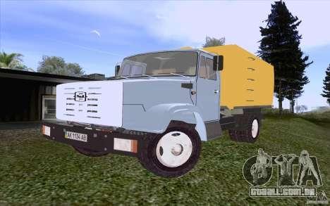 Caminhão de lixo ZIL 4331 para GTA San Andreas