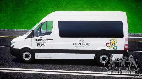Mercedes-Benz Sprinter Euro 2012 para GTA 4 esquerda vista