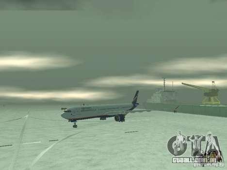 O Airbus A330-300 Aeroflot para GTA San Andreas