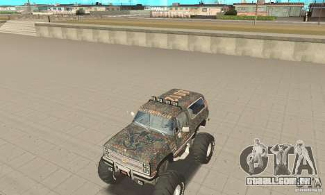 Chevrolet Blazer K5 Monster Skin 6 para GTA San Andreas