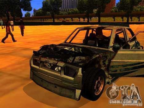 CHILI from FlatOut 2 para GTA San Andreas vista direita