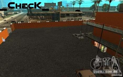 Respawn San News para GTA San Andreas quinto tela