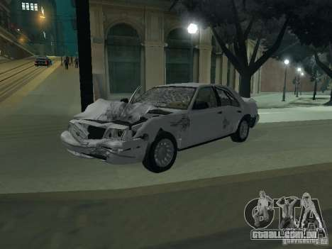 Ford Crown Victoria para GTA San Andreas interior