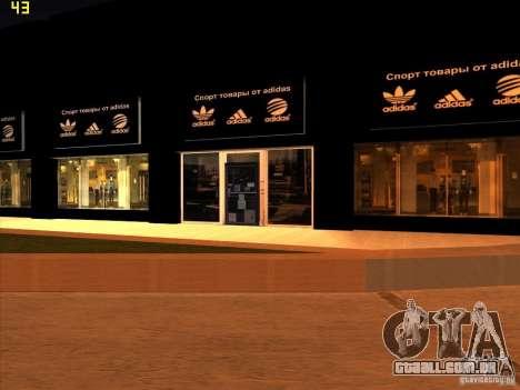 Substituição completa da loja Binco Adidas para GTA San Andreas terceira tela