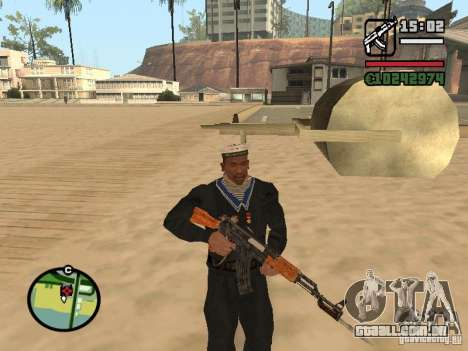 Marinheiro para GTA San Andreas terceira tela