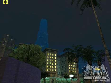 GTA SA IV Los Santos Re-Textured Ciy para GTA San Andreas twelth tela