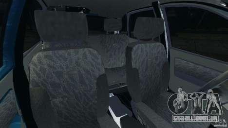 Kalina Vaz-1119 para GTA 4 vista interior