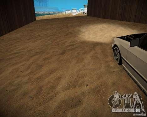New textures beach of Santa Maria para GTA San Andreas nono tela