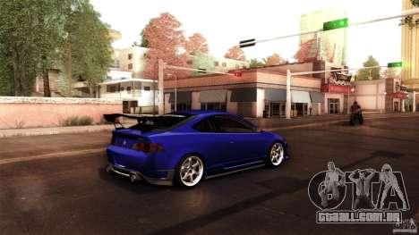 Acura RSX Spoon Sports para GTA San Andreas vista traseira