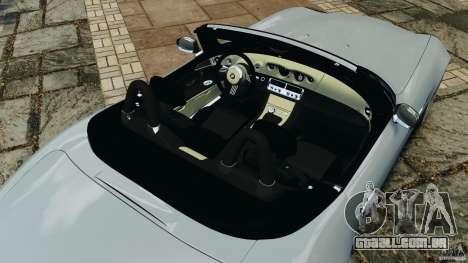 BMW Z8 2000 para GTA 4 vista superior